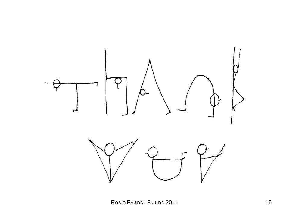 Rosie Evans 18 June 201116