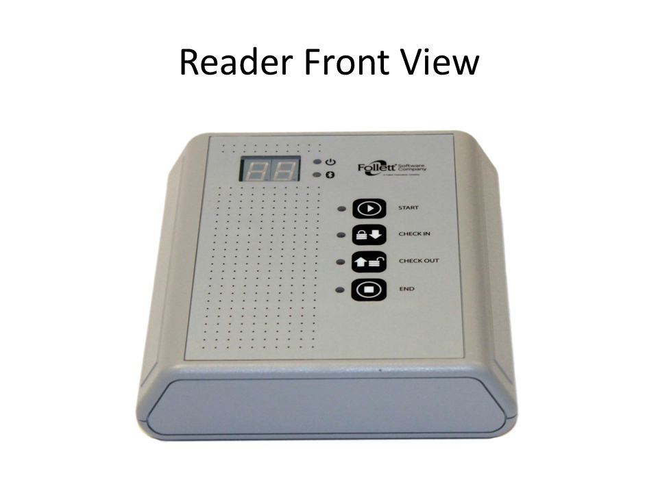 Reader Front View
