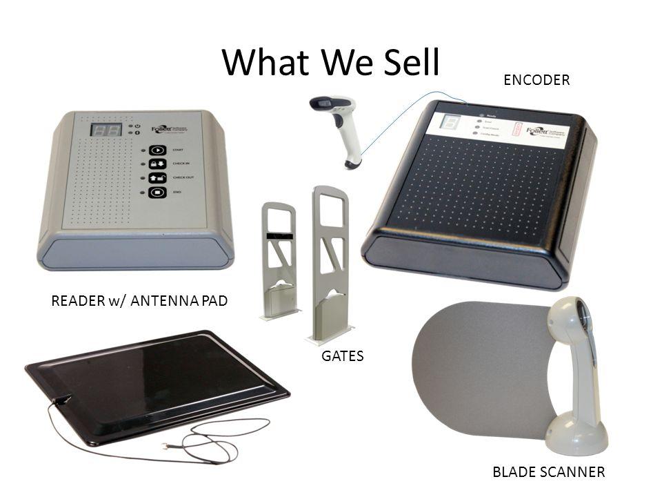 What We Sell READER w/ ANTENNA PAD ENCODER BLADE SCANNER GATES