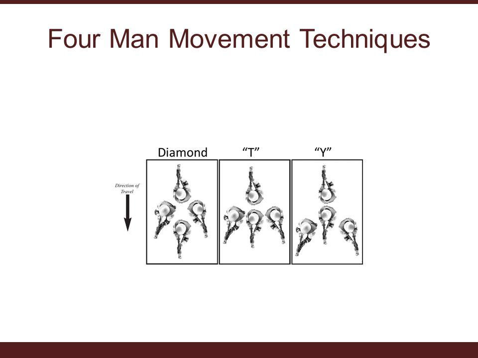 Four Man Movement Techniques