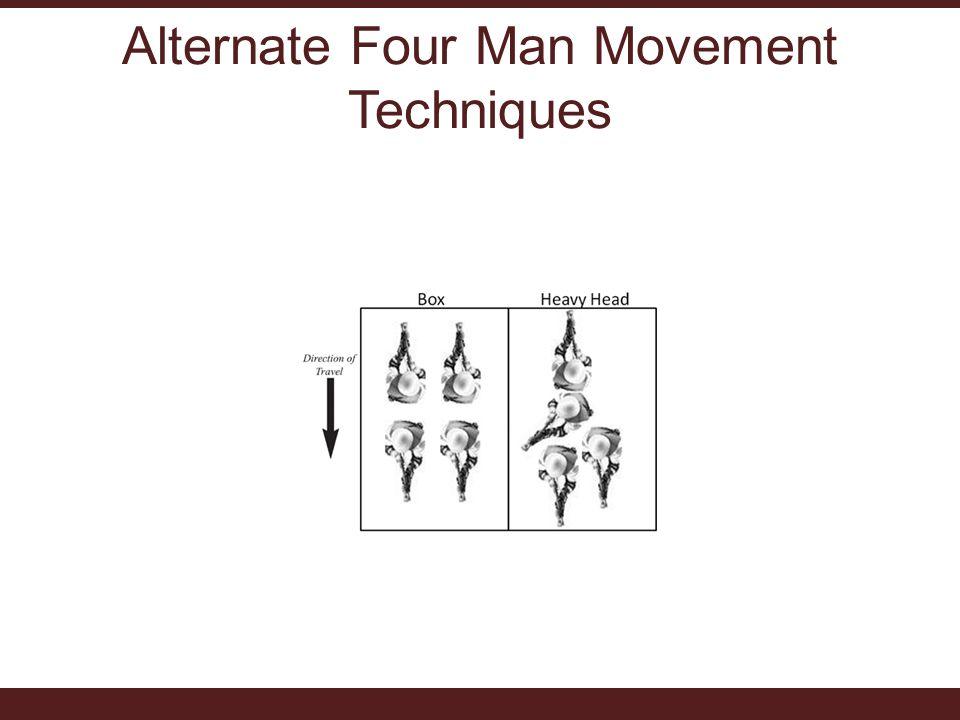 Alternate Four Man Movement Techniques