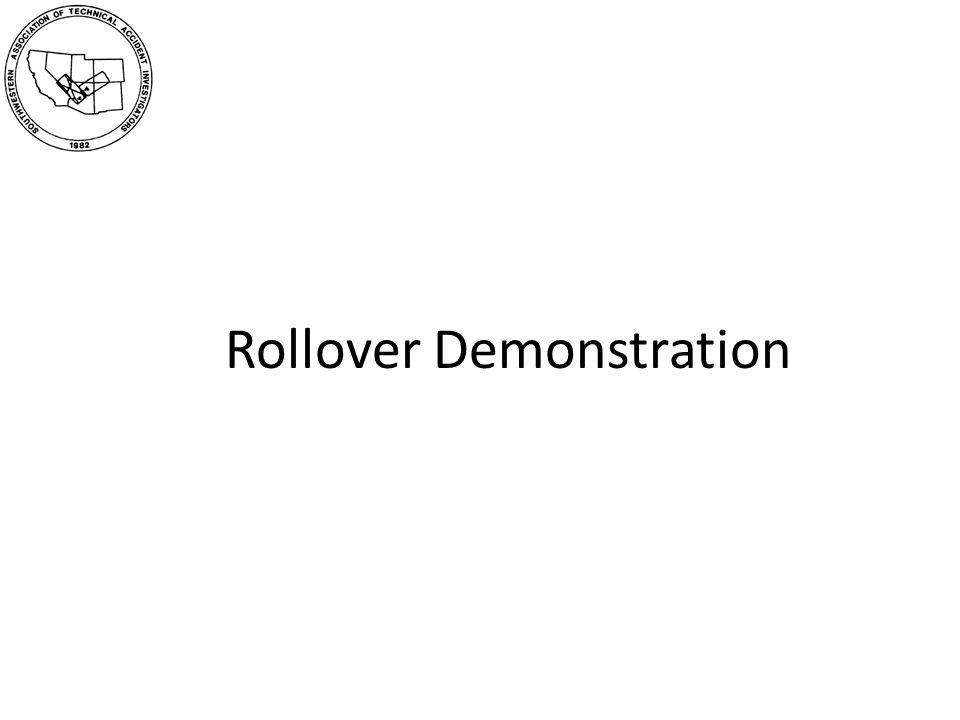 Rollover Demonstration