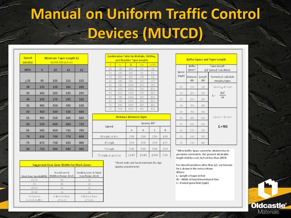 Manual on Uniform Traffic Control Devices (MUTCD)