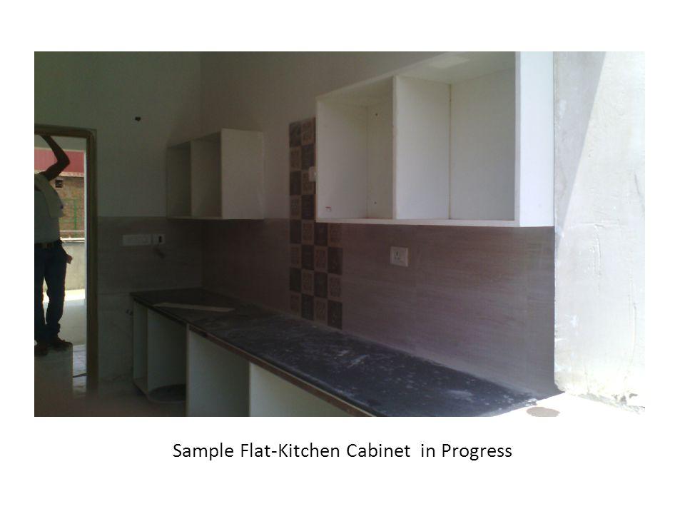 Sample Flat-Kitchen Cabinet in Progress