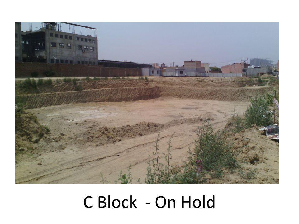 C Block - On Hold