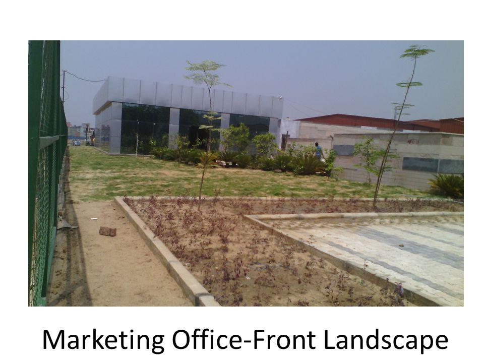 Marketing Office-Front Landscape