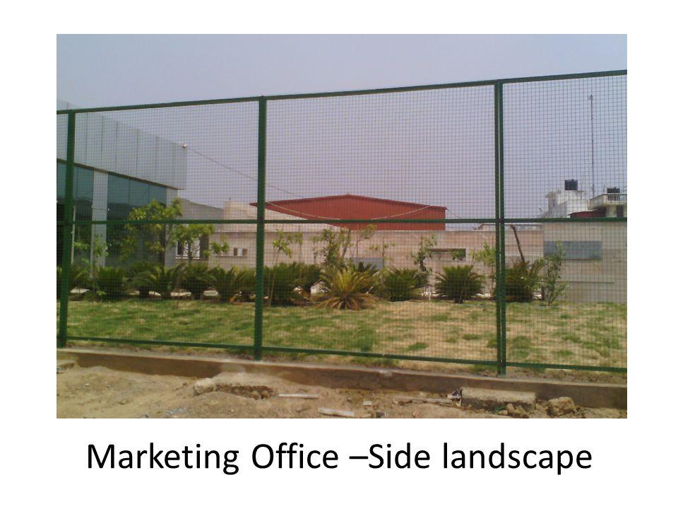 Marketing Office –Side landscape
