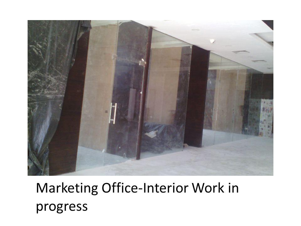 Marketing Office-Interior Work in progress