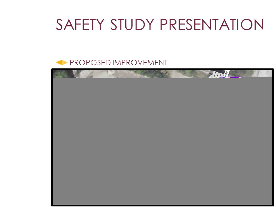 PROPOSED IMPROVEMENT SAFETY STUDY PRESENTATION