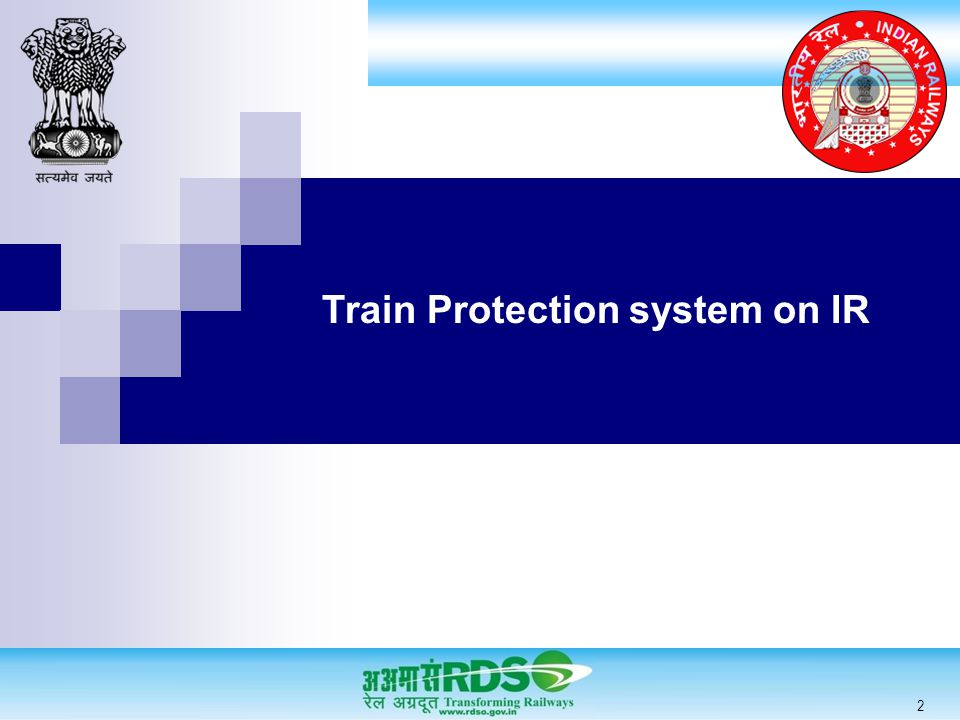 Train Protection system on IR 2