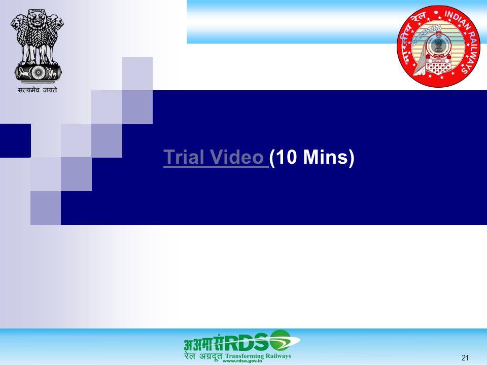 Trial Video Trial Video (10 Mins) 21