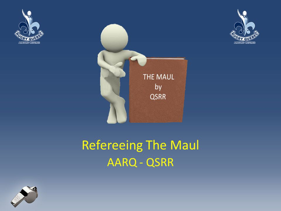 Refereeing The Maul AARQ - QSRR