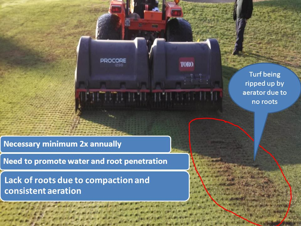 Missing rear nozzle impacts spray coverage and uniformity Potential water savings when all repairs complete