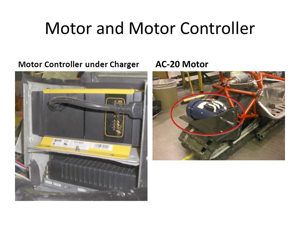 Motor and Motor Controller Motor Controller under Charger AC-20 Motor