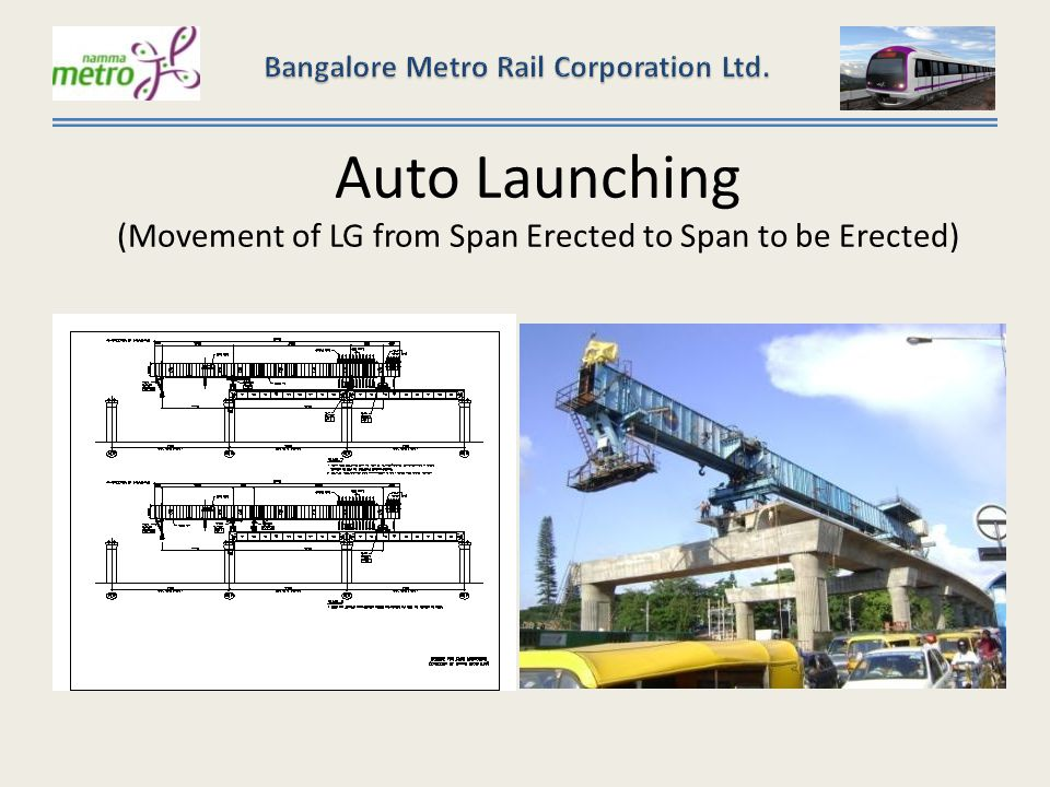 Auto Launching (Movement of LG from Span Erected to Span to be Erected)