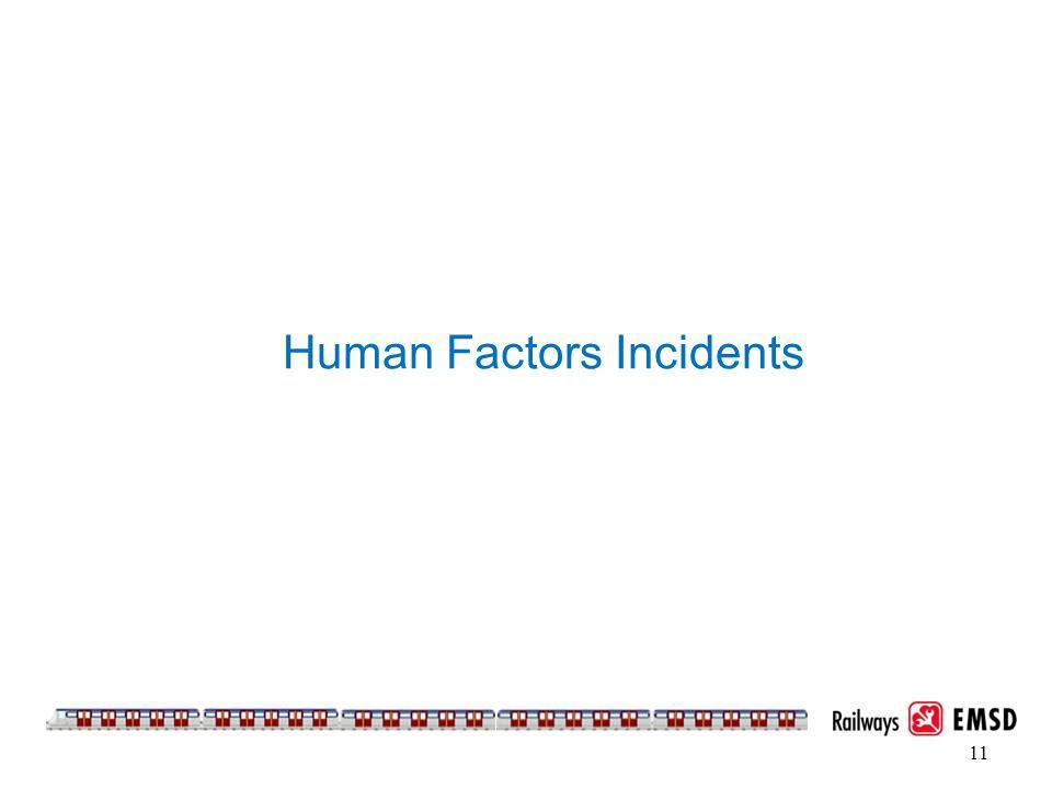 11 Human Factors Incidents