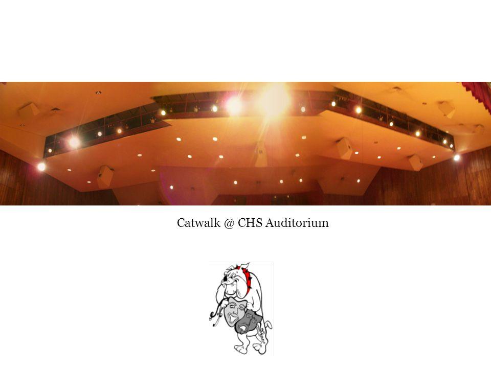 Catwalk @ CHS Auditorium