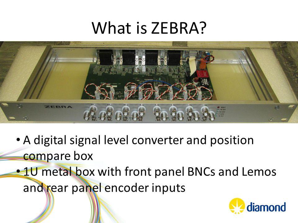 What is ZEBRA.