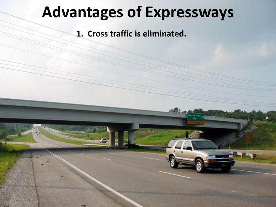 11.3 Strategies for Driving on Expressways This section focuses on strategies for driving on expressways.