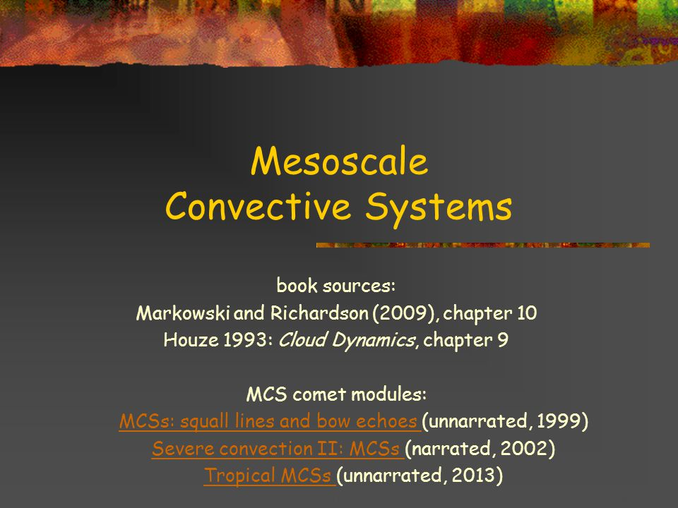 Title goes here for lessonFebruary 2002 The RKW theory for squall line maintenance is not without controversy … Fig.