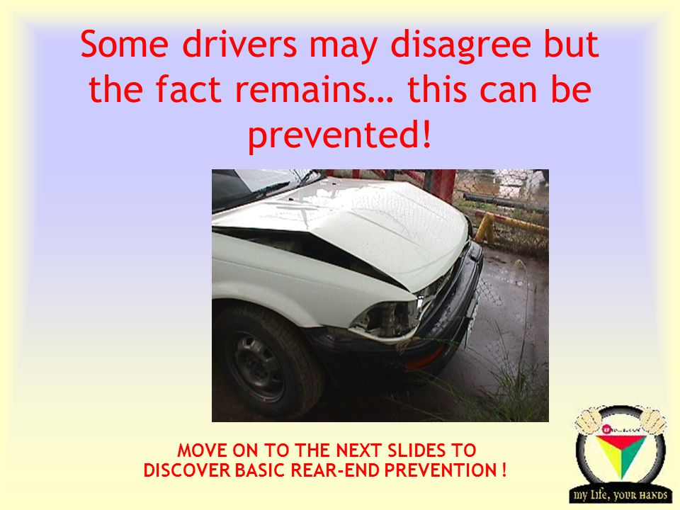 Transportation Tuesday Some drivers may disagree but the fact remains… this can be prevented.
