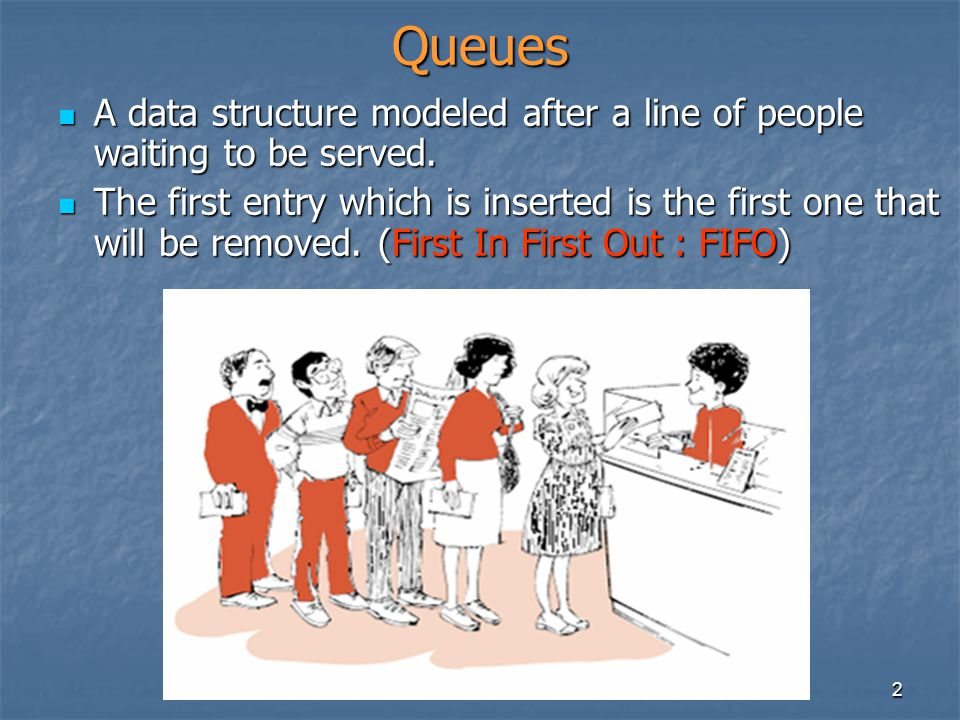 3 Application of Queues in our everyday life