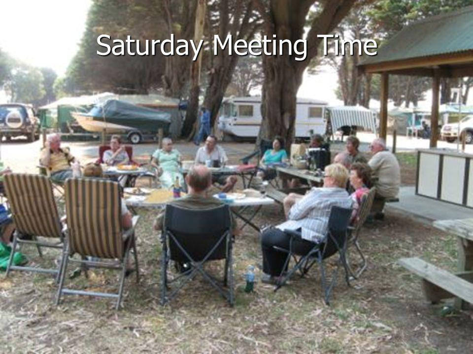 Saturday Meeting Time