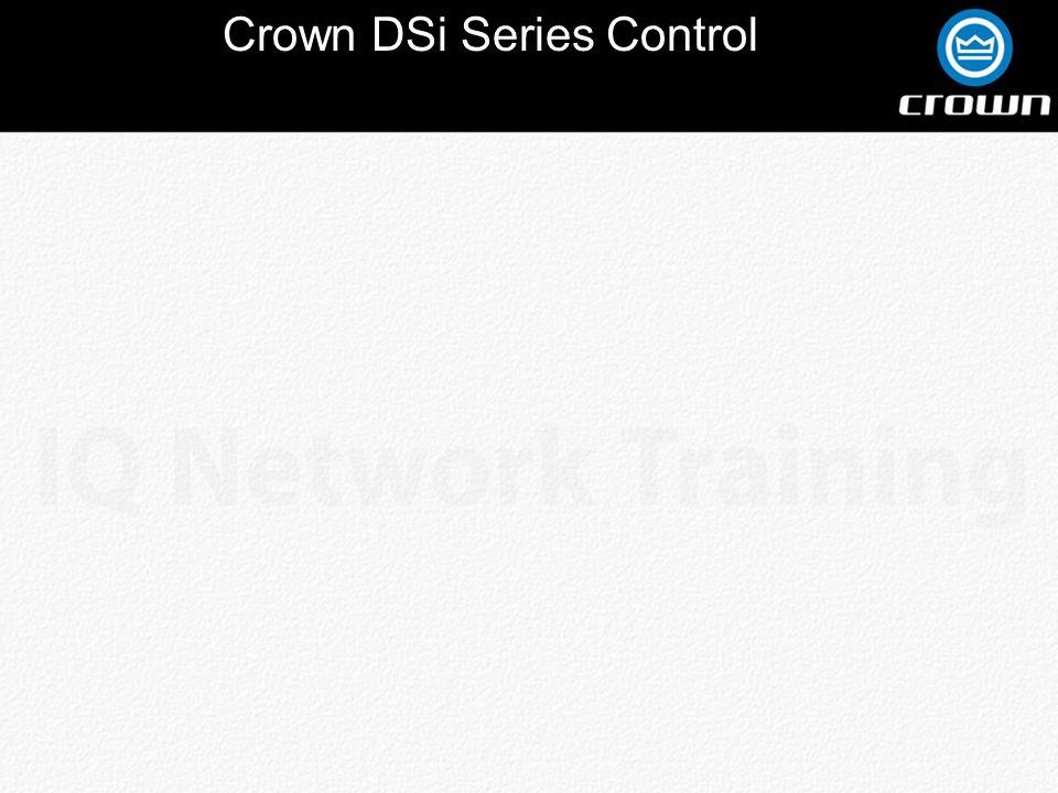 Crown DSi Series Control