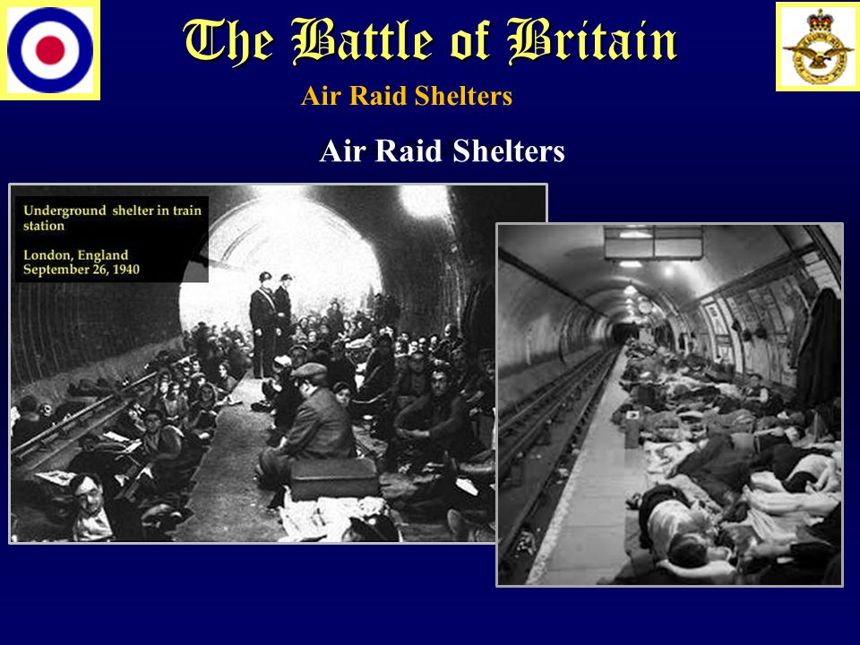 Anderson Bomb Shelter Air Raid Shelters