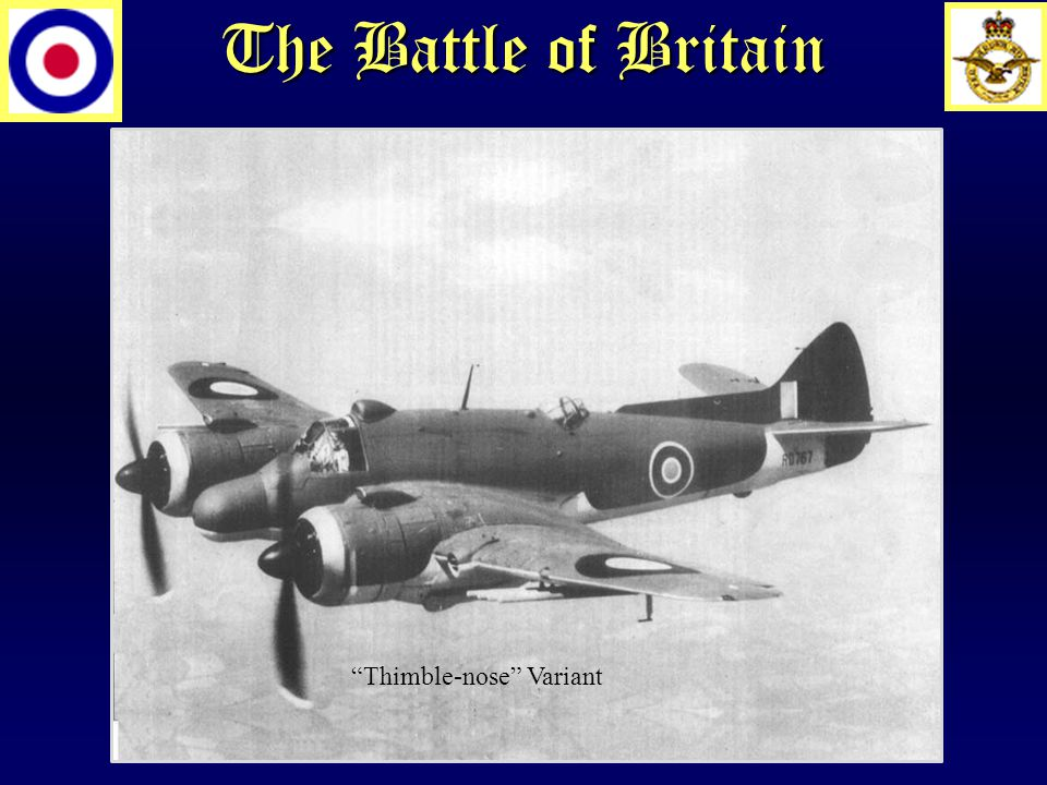 The Battle of Britain Thimble-nose Variant
