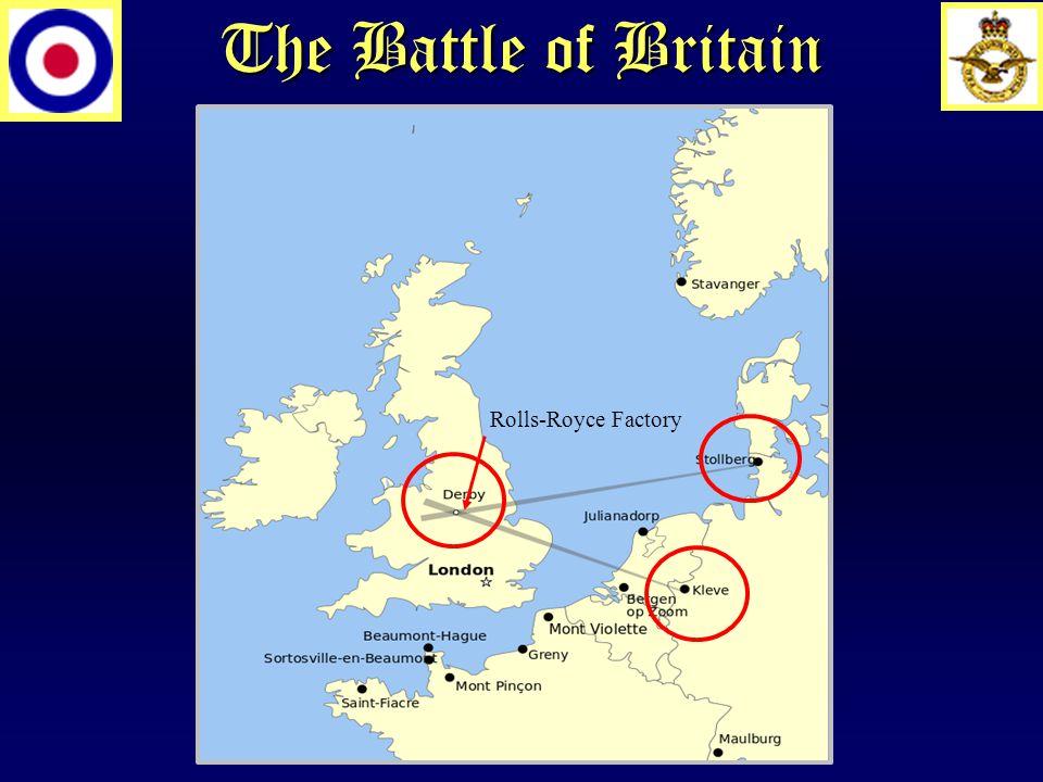 The Battle of Britain Rolls-Royce Factory