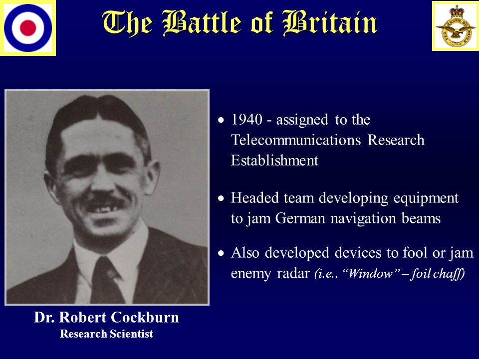 The Battle of Britain Dr.