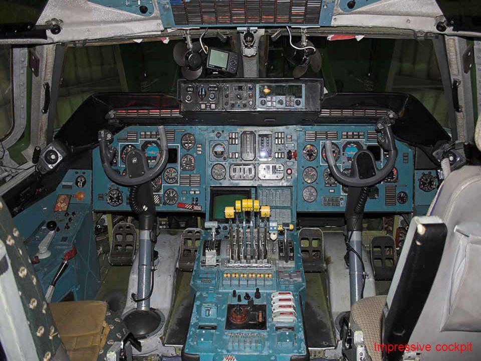 Impressive cockpit