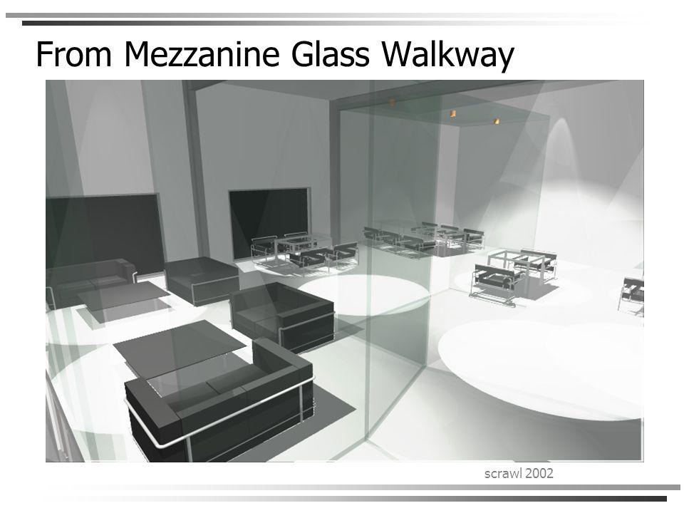 scrawl 2002 From Mezzanine Glass Walkway