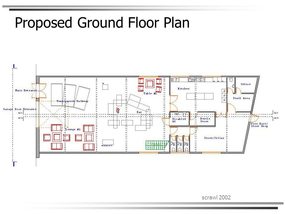 scrawl 2002 Proposed Ground Floor Plan