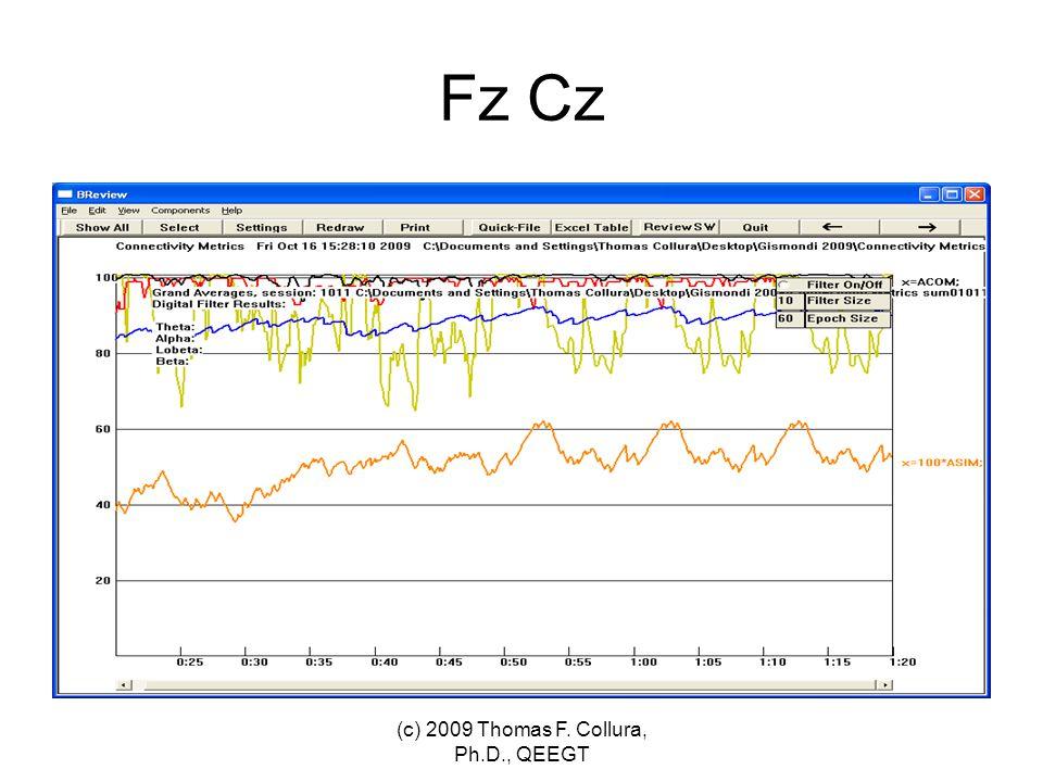 Fz Cz (c) 2009 Thomas F. Collura, Ph.D., QEEGT