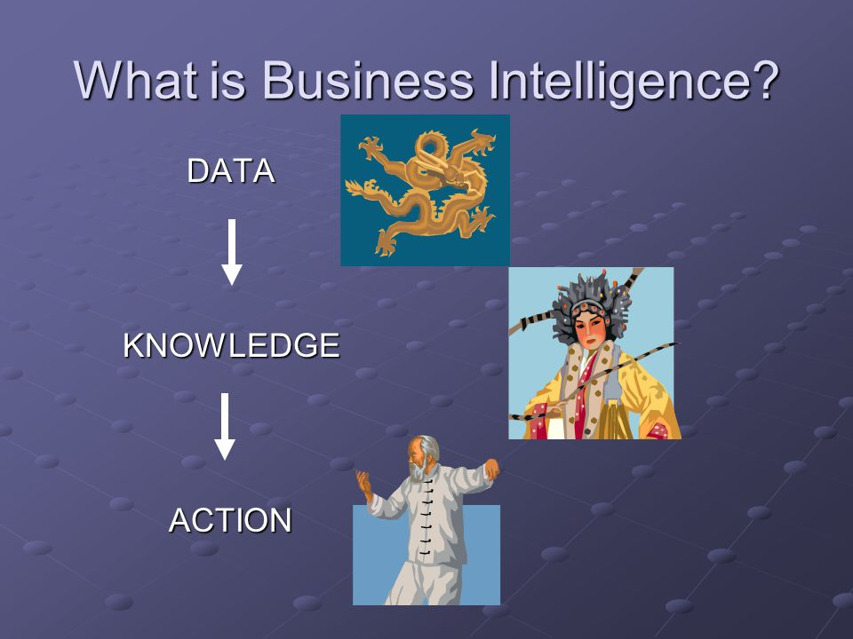 What is Business Intelligence DATAKNOWLEDGEACTION