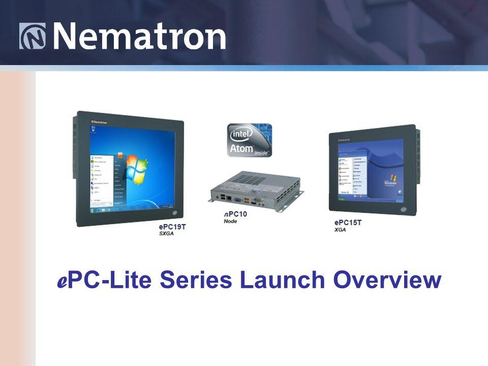 e PC-Lite Series Launch Overview