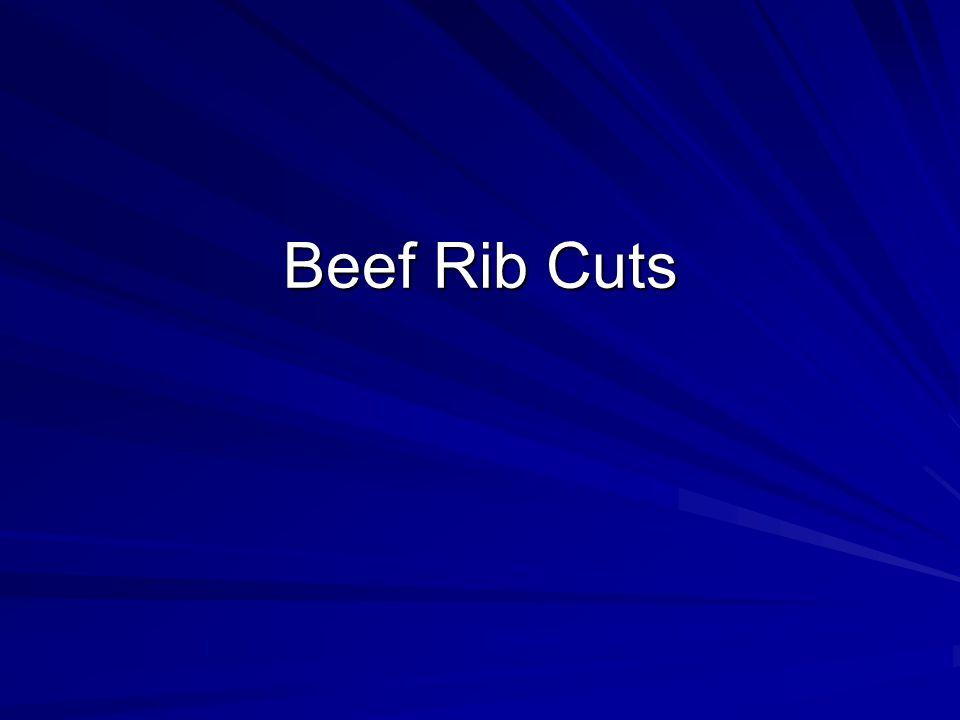 Beef Rib Cuts