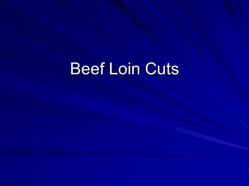 Beef Loin Cuts