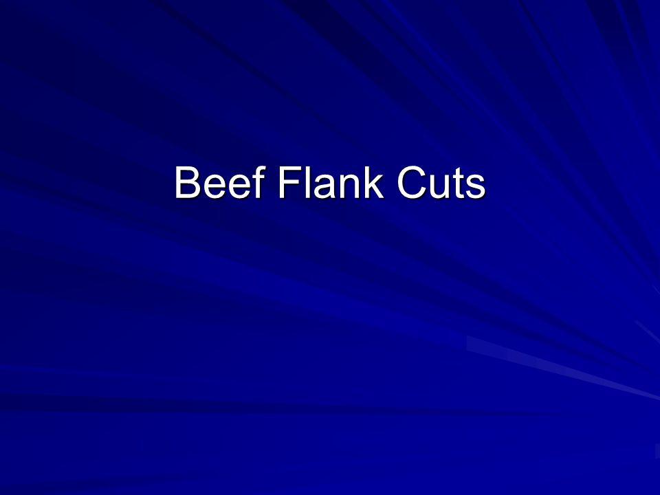 Beef Flank Cuts