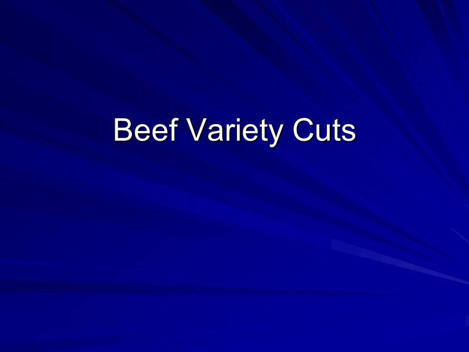 Beef Variety Cuts