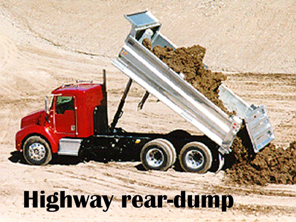 Highway rear-dump