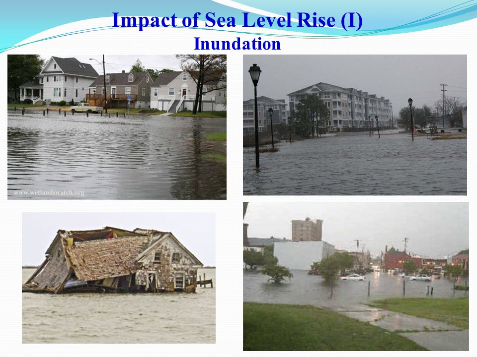 Impact of Sea Level Rise (I) Inundation
