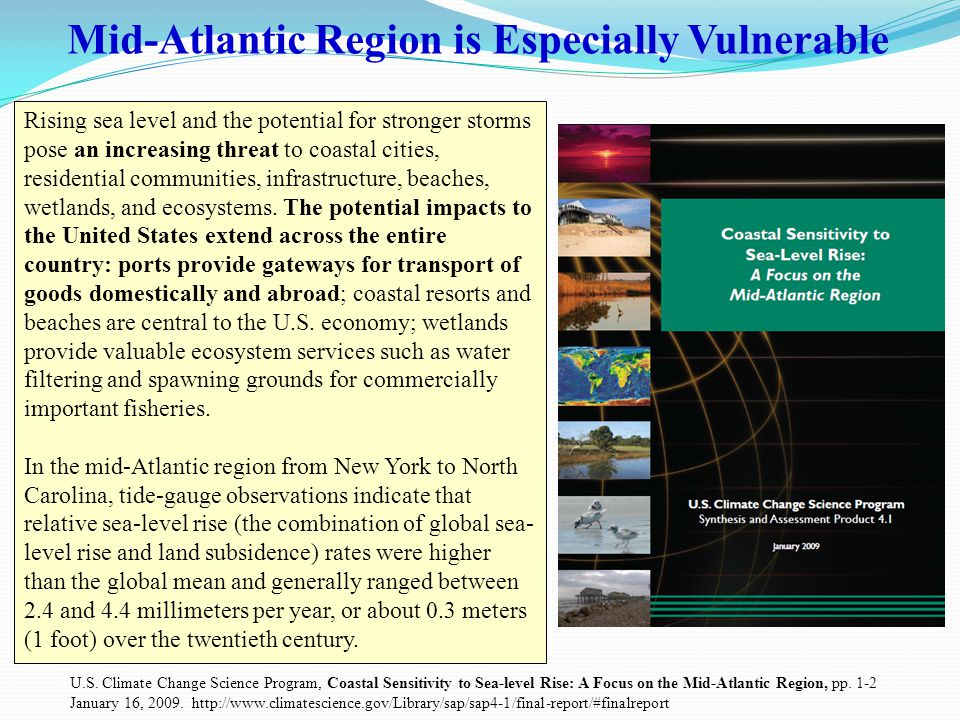 Risk to Hampton Roads from Sea Level Rise: #2 in the United States