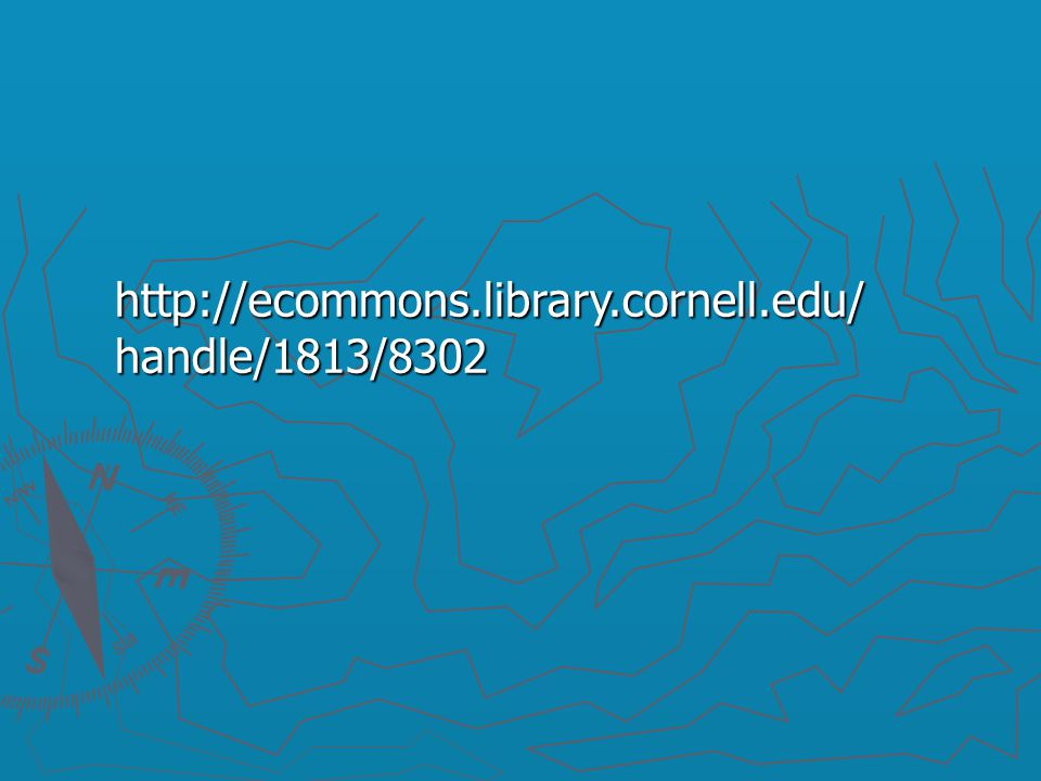 http://ecommons.library.cornell.edu/ handle/1813/8302