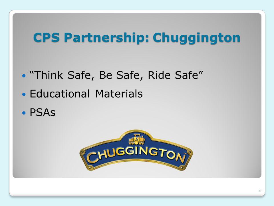 CPS Partnership: Chuggington Think Safe, Be Safe, Ride Safe Educational Materials PSAs 8