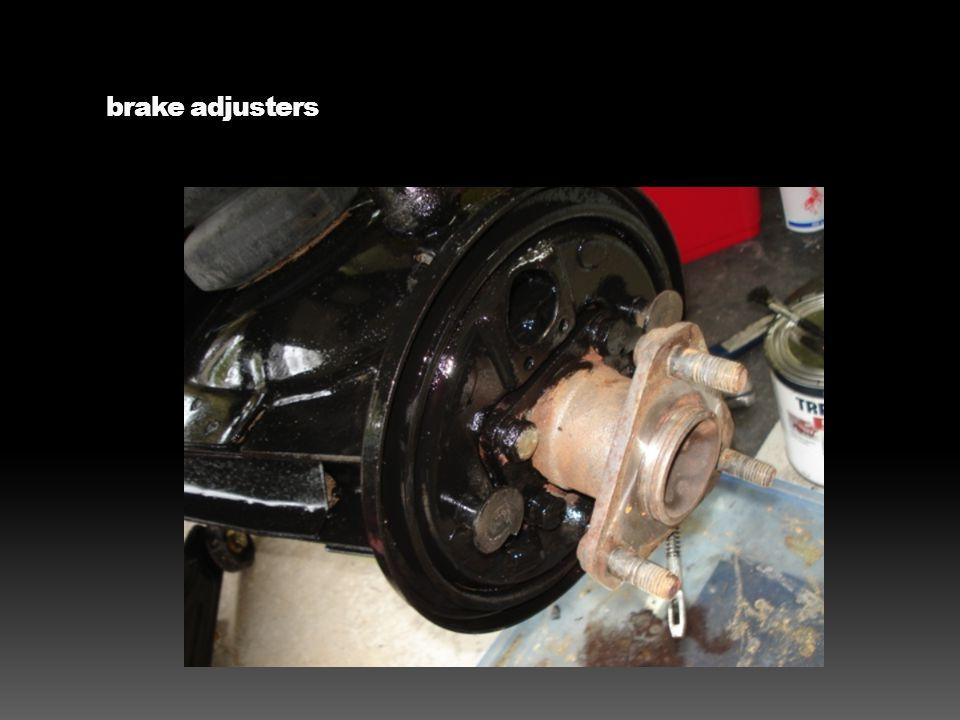 brake adjusters