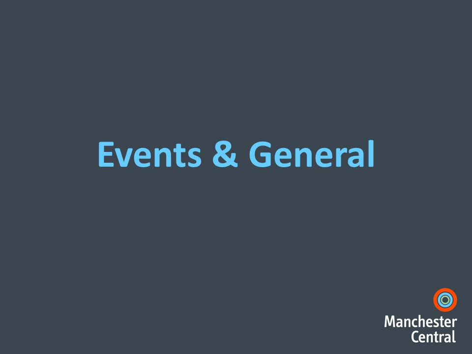 Events & General