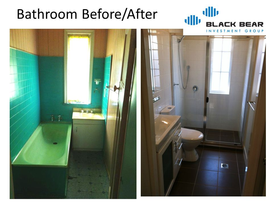 Bathroom Before/After
